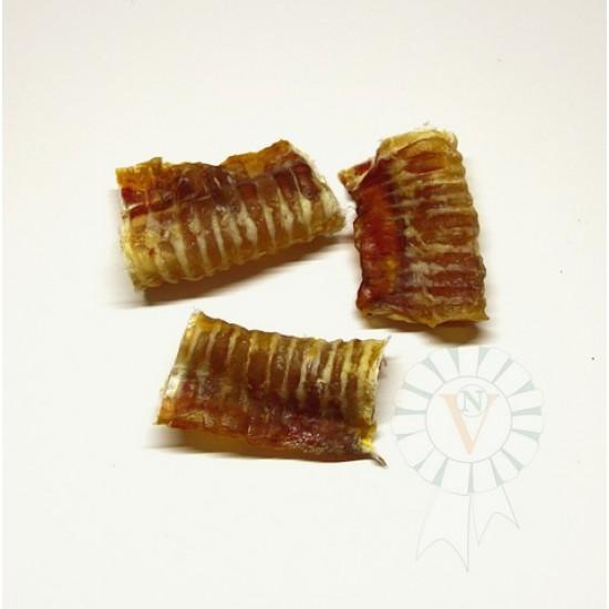 Трахея говяжья сушеная 8 см.  (3 куска)